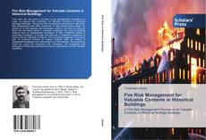 Bookcover of Fire Risk Management for Valuable Contents in Historical Buildings