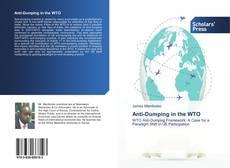 Capa do livro de Anti-Dumping in the WTO