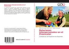 Portada del libro de Relaciones Interpersonales en el Preescolar