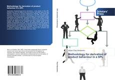 Bookcover of Methodology for derivation of product behaviour in a SPL