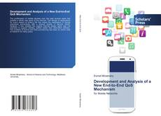 Buchcover von Development and Analysis of a New End-to-End QoS Mechanism