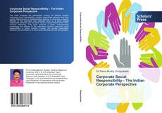 Bookcover of Corporate Social Responsibility - The Indian Corporate Perspective