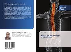 Обложка MRI in the diagnosis of low back pain