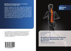 Bookcover of Multifidus Retraining Program in Chronic Mechanical Low Back Pain