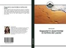 Capa do livro de Gagauzlar'ın ulusal kimliği ve tarihine dair yazılar