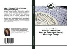 Portada del libro de Basel III Kriterlerinin Kobi'ler Üzerindeki Etkileri Osmaniye Örneği