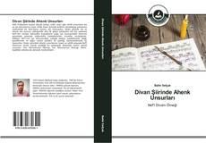Capa do livro de Divan Şiirinde Ahenk Unsurları