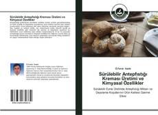 Capa do livro de Sürülebilir Antepfıstığı Kreması Üretimi ve Kimyasal Özellikler