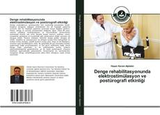 Portada del libro de Denge rehabilitasyonunda elektrostimülasyon ve postürografi etkinliği