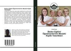 Capa do livro de Beden Eğitimi Öğretmenlerinin Mesleki Kişilik Yeterlikleri