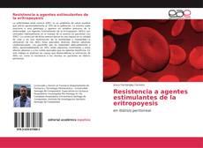 Capa do livro de Resistencia a agentes estimulantes de la eritropoyesis