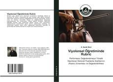 Portada del libro de Viyolonsel Öğretiminde Rubric