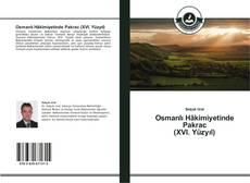 Capa do livro de Osmanlı Hâkimiyetinde Pakrac (XVI. Yüzyıl)