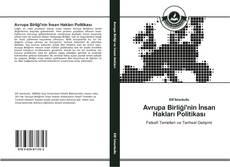 Portada del libro de Avrupa Birliği'nin İnsan Hakları Politikası