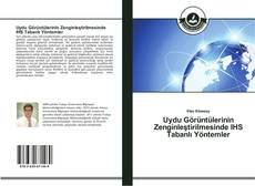 Portada del libro de Uydu Görüntülerinin Zenginleştirilmesinde IHS Tabanlı Yöntemler