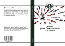 Portada del libro de Şiddet Üzerine Bilimsel Araştırmalar