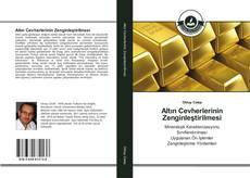 Couverture de Altın Cevherlerinin Zenginleştirilmesi