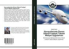 Capa do livro de Havayollarında Zaman Etkenli Faaliyet Tabanlı Maliyet Uygulaması