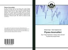 Piyasa Anomalileri kitap kapağı
