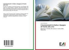 Buchcover von I licenziamenti in Italia e Spagna di fronte alla crisi