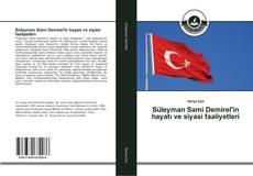 Süleyman Sami Demirel'in hayatı ve siyasi faaliyetleri kitap kapağı