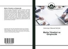 Capa do livro de Marka Yönetimi ve Girişimcilik