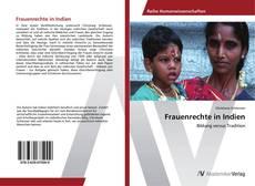 Buchcover von Frauenrechte in Indien