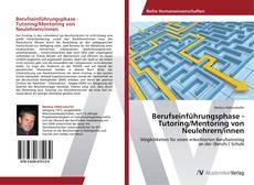 Portada del libro de Berufseinführungsphase - Tutoring/Mentoring von Neulehrern/innen