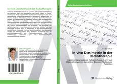 In-vivo Dosimetrie in der Radiotherapie kitap kapağı