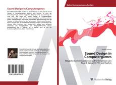 Bookcover of Sound Design in Computergames