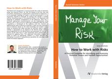 Bookcover of How to Work with Risks