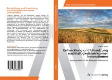 Buchcover von Entwicklung und Umsetzung nachhaltigkeitswirksamer Innovationen