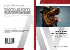 Capa do livro de Hunde in der Fernsehwerbung