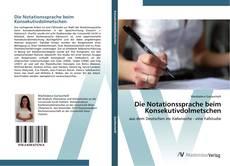 Copertina di Die Notationssprache beim Konsekutivdolmetschen