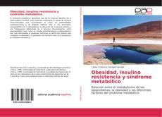 Portada del libro de Obesidad, insulino resistencia y síndrome metabólico