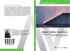 Bauen, Haften, Versichern的封面