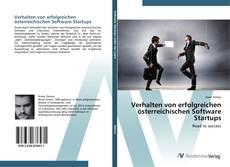 Copertina di Verhalten von erfolgreichen österreichischen Software Startups