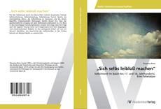 """Sich selbs leibloß machen"" kitap kapağı"