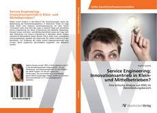 Bookcover of Service Engineering: Innovationsantrieb in Klein- und Mittelbetrieben?