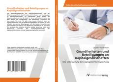Capa do livro de Grundfreiheiten und Beteiligungen an Kapitalgesellschaften