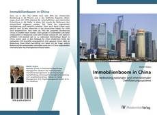 Bookcover of Immobilienboom in China