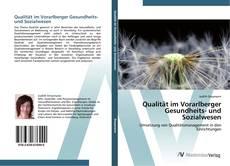 Portada del libro de Qualität im Vorarlberger Gesundheits- und Sozialwesen