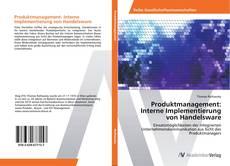 Couverture de Produktmanagement: Interne Implementierung von Handelsware