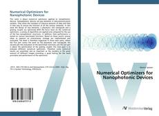 Bookcover of Numerical Optimizers for Nanophotonic Devices