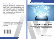 Portada del libro de Bring Your Own Device