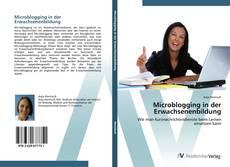 Buchcover von Microblogging in der Erwachsenenbildung