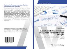 Обложка Automated measurement evaluation for combustion analysis