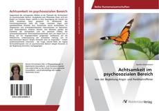 Buchcover von Achtsamkeit im psychosozialen Bereich