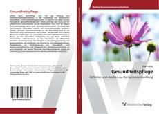 Bookcover of Gesundheitspflege