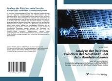 Bookcover of Analyse der Relation zwischen der Volatilität und dem Handelsvolumen